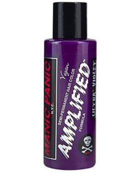 Manic Panic Amplified Hair Dye Ultra Violet Semi Permanent Vegan Colour 118ml