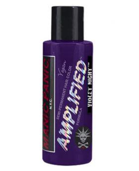 Manic Panic Amplified Hair Dye Violet Night Semi Permanent Vegan Colour 118ml