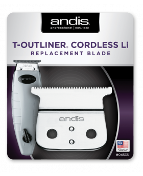 Andis Replacement T-Blade Set For Cordless T-Outliner Li Trimmer (#04535)