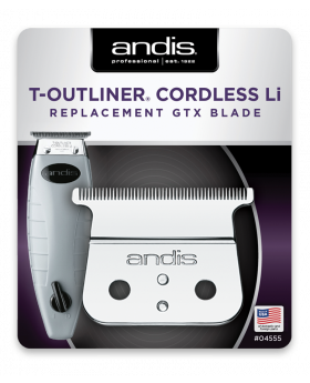 Andis Replacement Deep Tooth GTX TBlade For Cordless T-Outliner Li Trimmer (#04555)