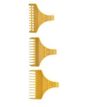 Wahl Attachment Combs For Detailer T-Blade Trimmer (1/2, 1, 1.1/2)