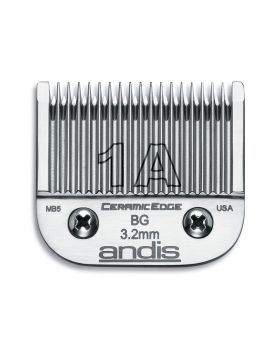 Andis Replacement CeramicEdge Detachable Clippers Blade Set, Size 1A #63055