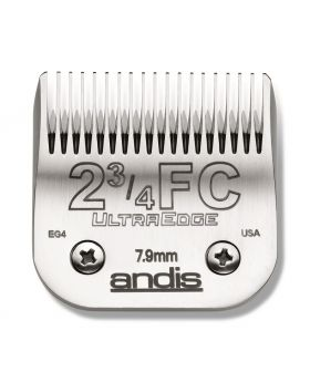 Andis Replacement UltraEdge Detachable Clippers Blade Set, Size 2 3/4 #63165