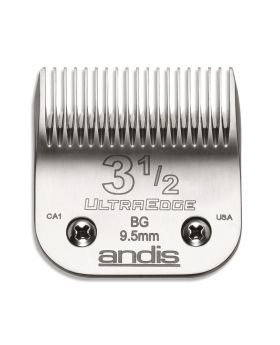 Andis Replacement UltraEdge Detachable Clippers Blade Set, Size 3 1/2 #64089