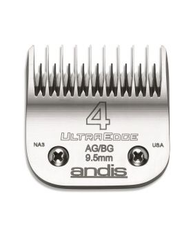 Andis Replacement UltraEdge Detachable Clippers Blade Set, Size 4 Skip Tooth #64090