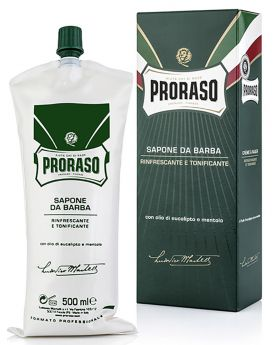 Proraso Shaving Cream Eucalyptus & Menthol Tube 500ml