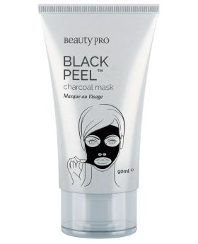 Beauty Pro Black Diamond Black Peel Off Mask 90g (Tube)