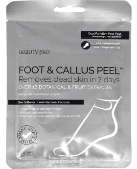 Beauty Pro Foot & Callus Peel with over 16 Botanical & Fruit extra (1 Pair)