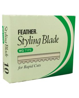 Feather Rapid Cut WG-Type Styling Blades Pack of 10