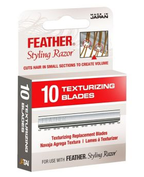 Feather Texturising Styling Blades Pack of 10