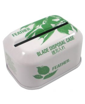 Feather Double Edge Safety Razor Blade Disposal Case