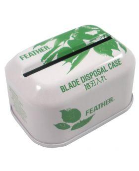 Feather Double Edge Safety Razor Blade Disposal Case