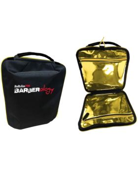 BaByliss Pro Barberology Gold Lined Barber Bag Travel Storage Case