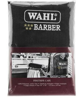 Wahl Professional 5 Star Barber Hairdressing Salon Waterproof Cape