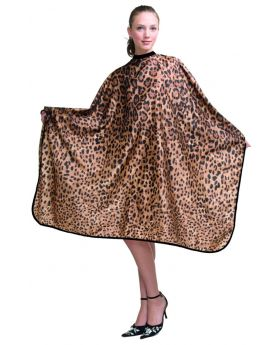 Wahl Leopard Print Barber Salon Waterproof Cape 3104