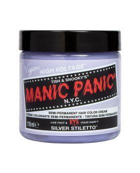 Manic Panic Classic Hair Dye Silver Stiletto Permanent Vegan Colour 118ml
