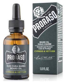Proraso Cypress Vetyver Beard Oil 30ml