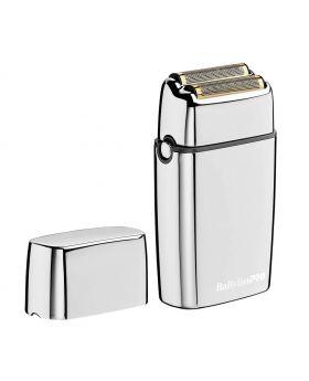 BaByliss Pro FoilFX02 Silver Double Foil Barber Shaver