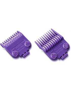 Andis Double Magnetic Clipper Comb Attachment Guard Guide Set #1/2 - #1.1/2