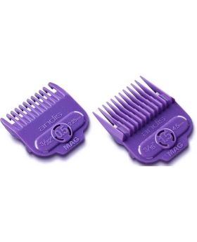 Andis Single Magnetic Clipper Comb Attachment Guard Guide Set #1/2 - #1.1/2