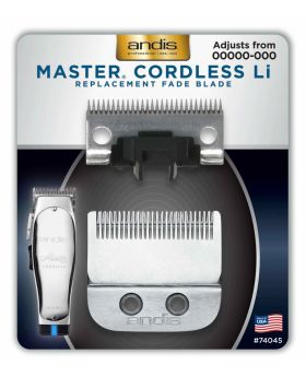 Andis Replacement Fade Blade For Master Cordless Li Clipper #74045