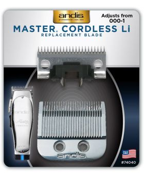 Andis Replacement Blade Set For Master Cordless Li Clipper 74040
