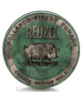 Reuzel Green Pig Pomade Grease Medium Hold 113g