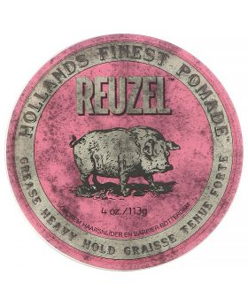 Reuzel Pink Pig Pomade Grease Heavy Hold 113g