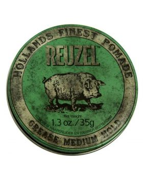 Reuzel Green Piglet Pomade Grease Medium Hold 35g