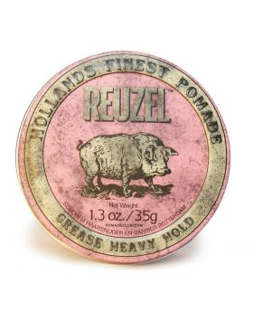 Reuzel Pink Piglet Pomade Grease Heavy Hold 35g