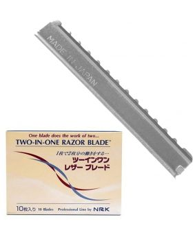 Nikky Two In One Hairdressing Texturising Razor Blades 10pk