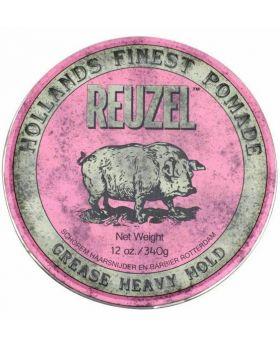 Reuzel Pink Pig Pomade Grease Heavy Hold 340g