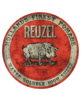 Reuzel Red Pig Pomade High Sheen Water Soluble 340g