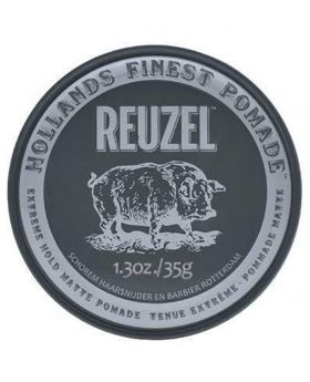 Reuzel Extreme Hold Matte Hair Pomade – No shine – Water soluble-35g