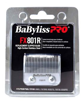 BaByliss PRO Replacement Taper Blade Hair Clipper Silver FX801R