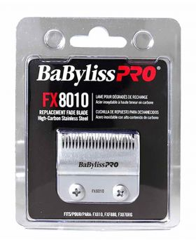 BaByliss PRO Replacement Fade Blade Hair Clipper Silver FX8010