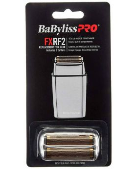BaByliss PRO FXRF2 Replacement Foil & Cutter Head For FoilFX02 Silver Shaver