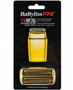 BaByliss PRO FXRF2G Replacement Foil & Cutter Head For FoilFX02 Gold Shaver