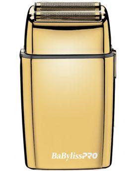 BaByliss Pro FoilFX02 Gold Double Foil Barber Shaver