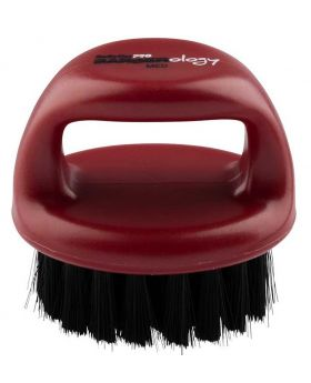 Babyliss Pro Barberology Knuckle Bristle Brush For Fade/Scalp Red