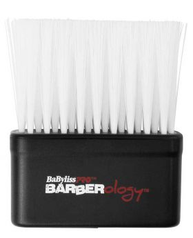 Babyliss Pro Nylon Bristles Barber Neck Duster Hair Remover White
