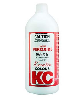 Keratin Colour 10 Volume 3% Creme Peroxide Hair Colouring 990mL