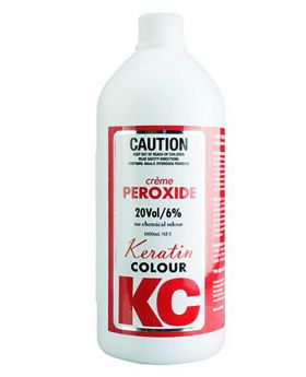Keratin Colour 20 Volume 6% Creme Peroxide Hair Colouring 990mL