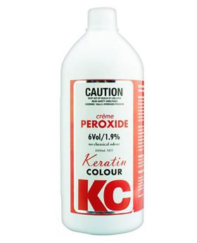 Keratin Colour 6 Volume 1.9% Creme Peroxide Hair Colouring 990mL