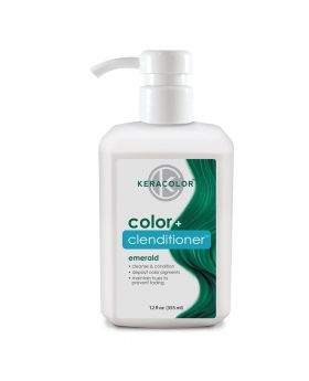 Keracolor Color Clenditioner Colour Shampoo 355ml - Eemerald