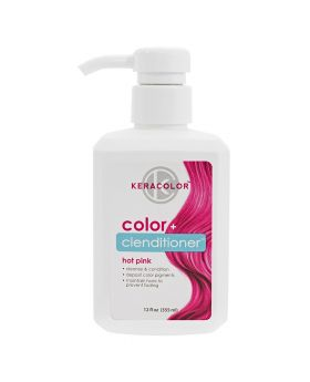 Keracolor Color Clenditioner Colour Shampoo 355ml - Hot Pink