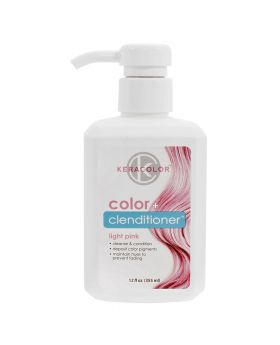 Keracolor Color Clenditioner Colour Shampoo 355ml - Light Pink