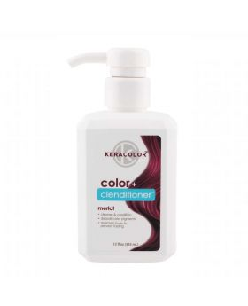 Keracolor Color Clenditioner Colour Shampoo 355ml - Merlot