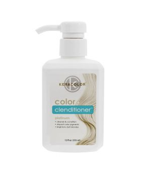 Keracolor Color Clenditioner Colour Shampoo 355ml - Platinum