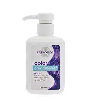 Keracolor Color Clenditioner Colour Shampoo 355ml - Purple